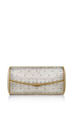 One Of A Kind Sterling Silver And Gold Evening Clutch  by BUCCELLATI Now Available on Moda Operandi