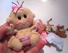 ♥♥♥ Gugu.. dada... by sweetfelt \ ideias em feltro, via Flickr