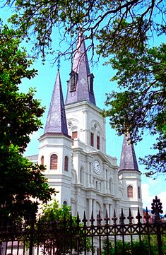 Jackson Square - St. Louis Cathedral, New Orleans