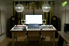 Mastering studios seem to look better than mixing studios. More is less, perhaps.