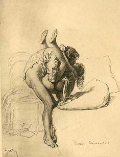 Mihály Zichy: 19th Century Erotic Art: tumblr_lbn9vd9iAX1qeys70o1_1280.jpg