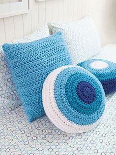 Designs include home décor items such as pillows and a sampler afghan as well as fashion accessories such as a scarf, cowl and beanie. There is even a fun play mat for babies and toddlers. Order your copy here: http://www.maggiescrochet.com/products/learn-to-crochet-linked-stitches