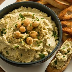 Need a healthy and easy dip for your #July4th #BBQ?  This artichoke hummus is a crowd-pleaser. @CansGetUCooking #client