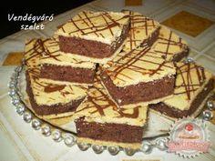 Receptek és egészség tippek: Vendégváró szelet Hungarian Cake, Tiramisu, Recipies, Goodies, Food And Drink, Yummy Food, Sweets, Healthy, Ethnic Recipes