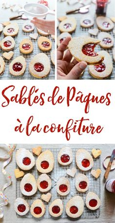 Adorable Easter egg jam cookies to celebrate Easter with style! An irresistible spin on the classic French jam cookie French Desserts, Easy Desserts, Dessert Recipes, Jam Cookies, Chocolate Cookie Recipes, Small Cake, Easter Cookies, Chocolate Hazelnut, Easter Recipes