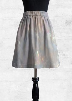 Cupro Skirt - Botanical by VIDA VIDA Free Shipping 100% Guaranteed Latest Collections Sale Online Amazing Price Sale Online 51heeI