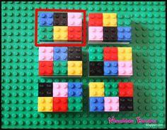Actividades Educativas con Lego: Sudoku - Creciendo con Montessori