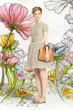 Spring 2014 Ready-to-Wear - Red Valentino OMG it's knit! The CUTEST!