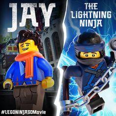 Jay can strike the same place twice! #LEGO #NINJAGO #LEGONINJAGO #LEGONINJAGOMovie #TheLEGOMovie #BeNinja #WarnerBros #EverythingIsAwesome