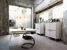 Fabulous Fascinating Unique Home Office Design Idea With Old Wall Paint