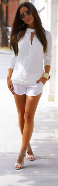 Summer White Chic