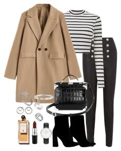 """""""Untitled #5524"""" by theeuropeancloset on Polyvore featuring Balmain, Miss Selfridge, Aspinal of London, Public Desire, Cartier, Daniel Wellington and Alexander Wang"""