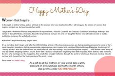 Happy Mothers Day from Judith August Cosmetics!