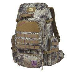 Slumberjack Wild-Her Camouflaged Backpack