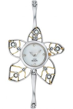 Titan ladies watch - raga pearl collection - 9974bm01j