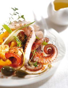 Pour un déjeuner léger mais corsé, voici une recette de poulpe épicée !