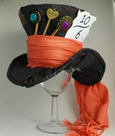 The Mad Hatter  Mini Mad Hatter Hat Replica by JustAsStrangeAsIAm