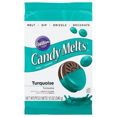 Wilton 19119424 Turquoise Candy Melts Candy >>> You can find more details by visiting the affiliate link Amazon.com.