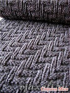 Мужской шарф - одна из незаменимых вещей в гардеробе настоящего мужчины.  Эта модель мужского шарфа, связанного спицами, очень проста в исполнении и подойдет даже новичкам в вязании.