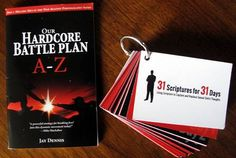 """Key Scriptures for men's moral purity (right) and a booklet, """"Our Hardcore Battle Plan A-Z,"""" will be among the resources for Southern Baptists' upcoming """"Join 1 Million Men"""" anti-pornography campaign.  Photo illustration by Laura Erlanson."""
