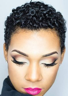 short hairstyles for black women – natural hairstyles  5