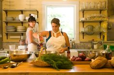 In the Kitchen Cooking Class, sign up for a summer cooking class, Summery Southern Italian Dinner with Georgia Gross 6-8:30pm, Monday, July 15th
