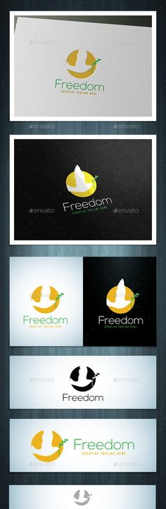 Freedom Logo Design Template Vector #logotype Download it here: http://graphicriver.net/item/freedom/12142844?s_rank=625?ref=nesto