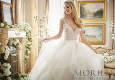 Morilee by Madeline Gardner | Style 2887 | There are endless wedding dresses to choose from however this elegant wedding dress may be the perfect choice for you.