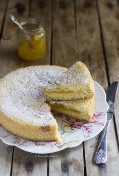 Torta versata con marmellata (ripieno che non scende) | Anna On The Clouds