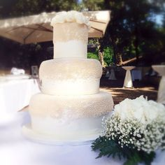 #weddingcake #fragole #crema