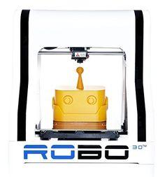 ROBO 3D R1 Plus 10x9x8-Inch ABS/PLA 3D Printer, White (A1-0002-000) by ROBO 3D via https://www.bittopper.com/item/robo-3d-r1-plus-fully-assembled-3d-printer-8-x-9-x-10/