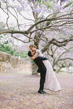 Love this! Prettiest bride and groom ever!   http://www.weddingpartyapp.com/blog/2014/08/22/romantic-handmade-wedding-lara-hotz-photography/