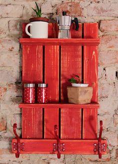 palettenm bel wandregal natur von woody paletten design auf k chenregal. Black Bedroom Furniture Sets. Home Design Ideas