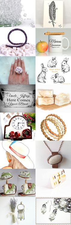 White unique gifts! by Polina Tsivilska on Etsy--Pinned with TreasuryPin.com