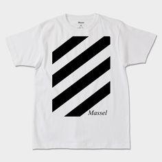 Masselのメンズ Tシャツ STRPMA