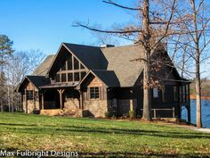Appalachia Mountain is an A-Frame mountain house plan with great views out the rear, ample porch space and an open floor plan.