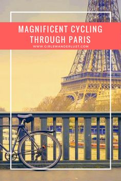 Magnificent cycling through Paris! A few years ago I discovered that cycling in Paris is the best way to explore the city. In this blog post I will tell you about my cycling experience, where to rent a bike and why it is so great to explore the city by bike instead of by tourist buses or walking. #girlswanderlust #wanderlust #travel #traveling #travelling #travel #travelblog #travelinspiration #inspiration #reizen #paris #france