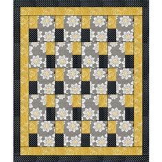 imply Blocks 3-Yard Quilt  Make this great quilt with just 3 yards of fabric!  Finished size of quilt 45 x 56 inches.