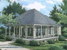 Cottage Style House Plans - 1400 Square Foot Home , 2 Story, 3 Bedroom and 3 Bath, 0 Garage Stalls by Monster House Plans - Plan Cottage House Designs, Cottage Style House Plans, Cottage Floor Plans, House Plans One Story, House Plans And More, Cottage House Plans, Small House Plans, Cottage Homes, House Floor Plans