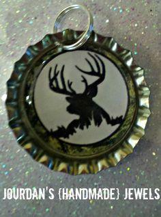 Big BUCK deer elk moose hunting camo by jourdanshndmdjewels, $5.00