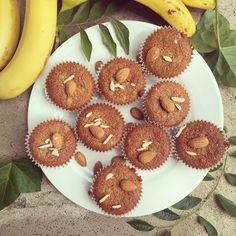 Диетические банановые кексы