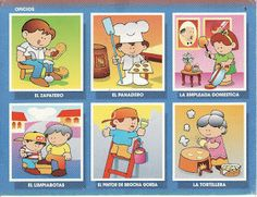 Los oficios y profesiones | BLOG PRIMER CICLO SISIUS There are several more images on the page.