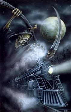 666 Grim Reaper | 666 Grim Reaper Heavy Metal | grim Reaper night train Image