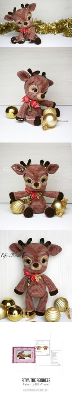 Ritva the Reindeer amigurumi pattern