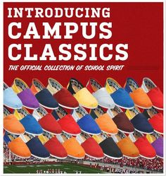 TOMS Shoes Campus Collection