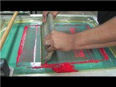 Screen-Printing Basics : Shirt Screen-Printing Basics