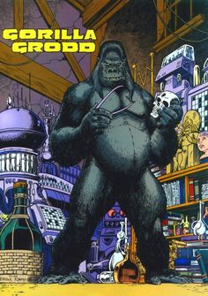 Gorilla Grodd by Arthur Adams *