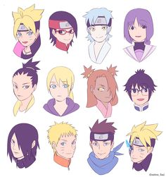 Inojin, Shikadai, Naruto Y Boruto, Sarada Uchiha, Naruto Art, Sasuke, Manga Anime, Boruto Characters, Boruto Next Generation