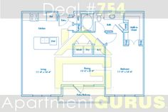 Beds - 1 Baths - 1  Sq. Ft. - 859  Starting Price - $1350