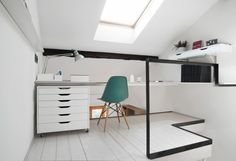 CPR attic refurbishment by +R Piuerre